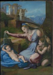 Madonna with the Blue Diadem